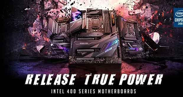 Cartes mères MSI 400 series (Intel)