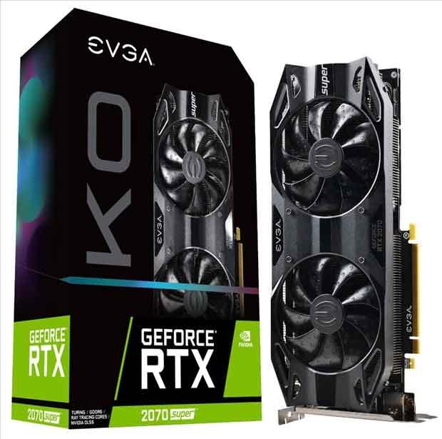 GeForce RTX 2070 Super KO d'EVGA