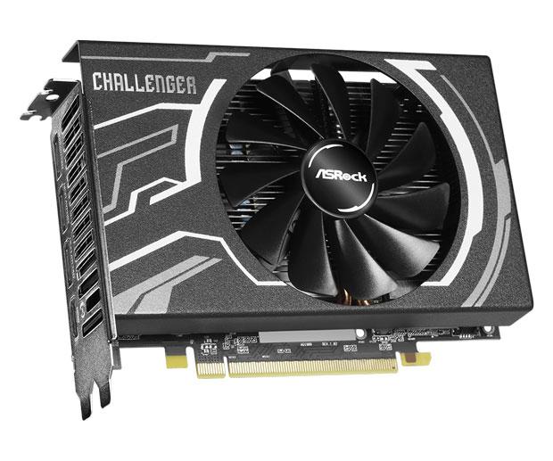 Radeon RX 5500 XT Challenger ITX 8G d'ASRock