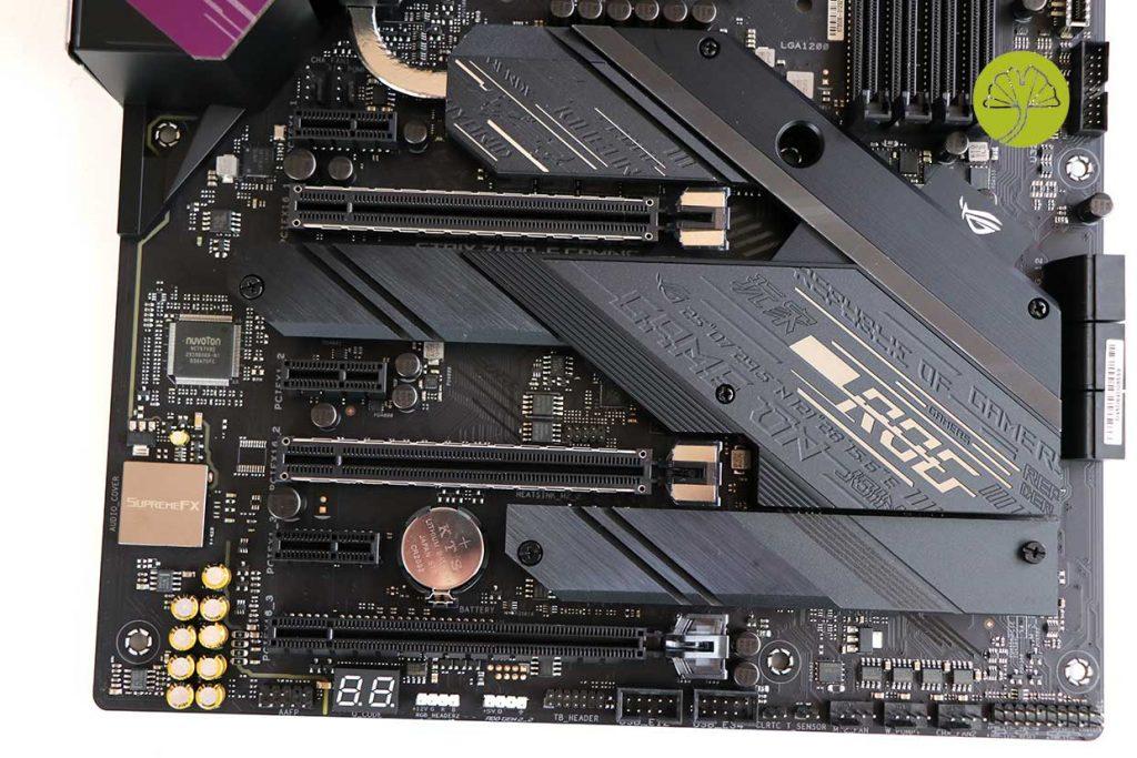ROG Strix Z480-E Gaming d'Asus