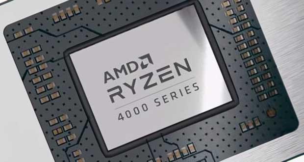 Processeur AMD Ryzen 4000 series
