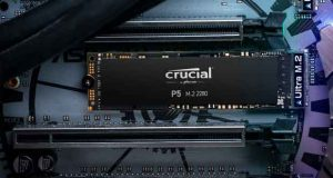 SSD Crucial P5 M.2 NVMe NAND 3D