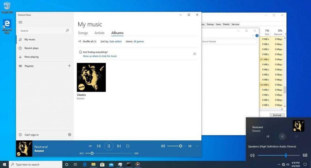 Windows 10 et la gestion du volume audio