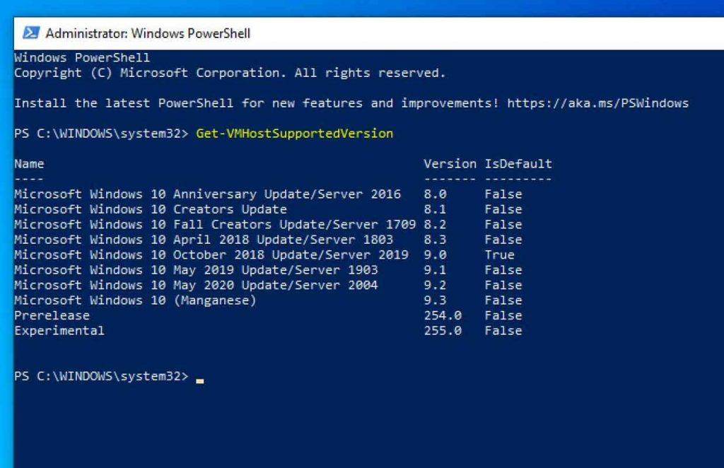 Windows 10 v2004 alias May 2020 Update