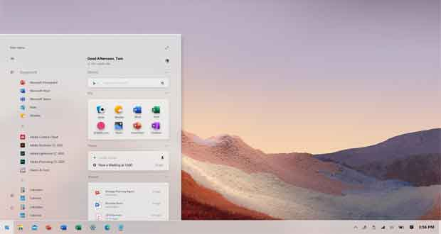 Windows 10 et les « Concept design »