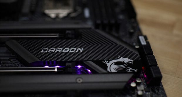 Carte mère MSI Z490 Gaming Pro Carbon
