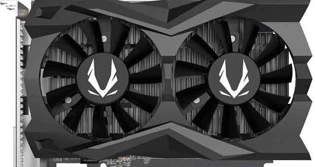 GeForce GTX 1650 GDDR6 AMP ZT-T16520D-10L de Zotac