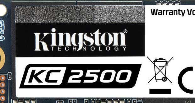 SSD NVMe PCIe 3.0 KC2500 de Kingston