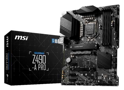 Carte mère MSI Z490 A Pro
