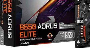 Carte mère Gigabyte B550 Aorus Elite