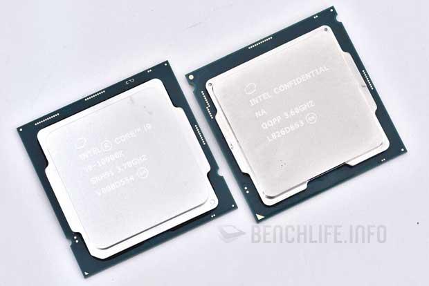 Le Review Kit Comet lake-S d'Intel composé des Core i5-10600K et Core i9-10900K