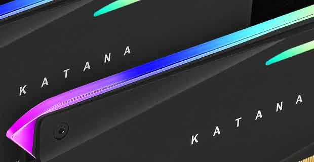 Mémoire vive DDR4 Katana d'Antec