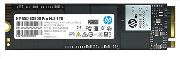 SSD EX900 Pro d'HP