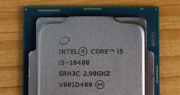 Core i5-10400 d'Intel