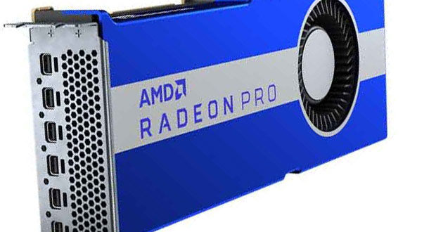 Carte graphique Radeon Pro VII d'AMD