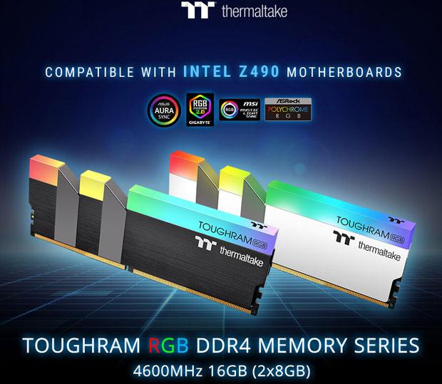 TOUGHRAM RGB DDR4 4600 MHz