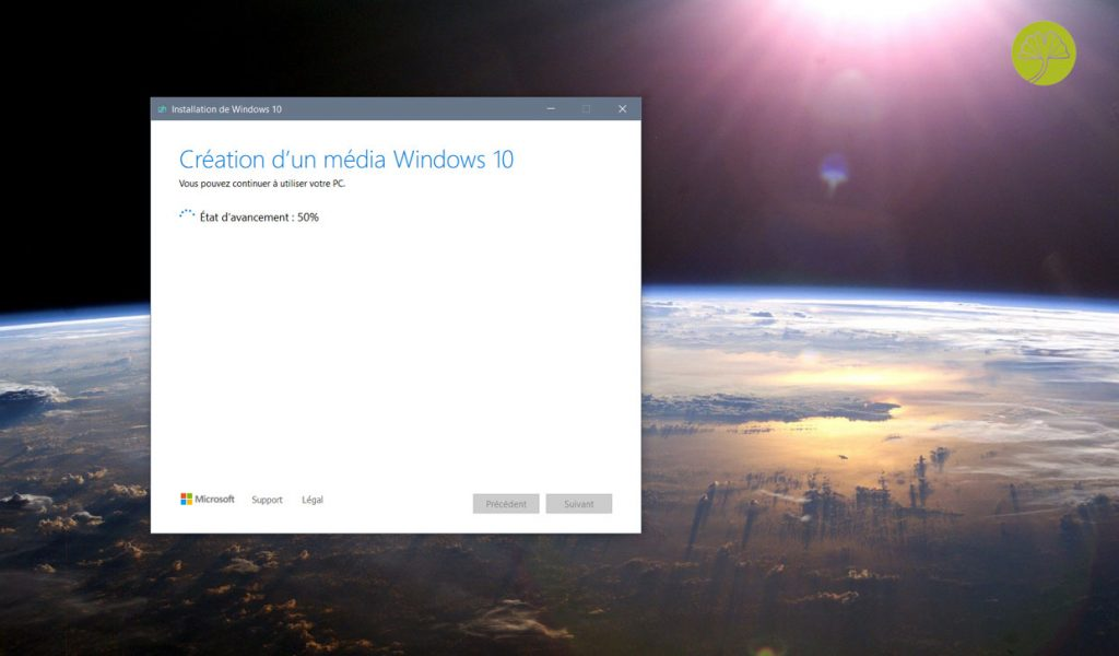 Windows 10 May 2020 Update et le Media Creation Tool