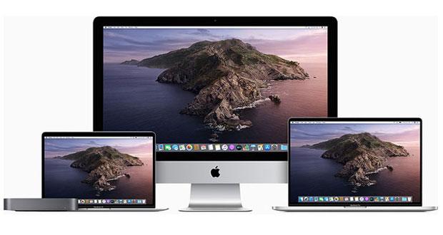 Famille Mac d'Apple