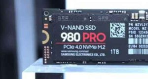 NAND SSD 980 Pro PCIe 4.0 NVMe M.2 de Samsung