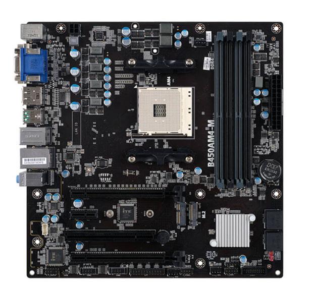 Carte mère B450AM4-M d'Elitegroup Computer Systems (ECS)