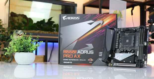 Carte mère Gigabyte B550I Aorus Pro AX