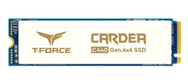 SSD T-Force CARDEA Ceramic C440 de TeamGroup