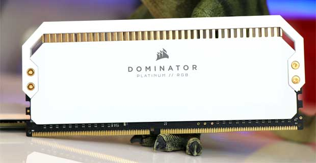 Dominator Platinum RGB White de Corsair