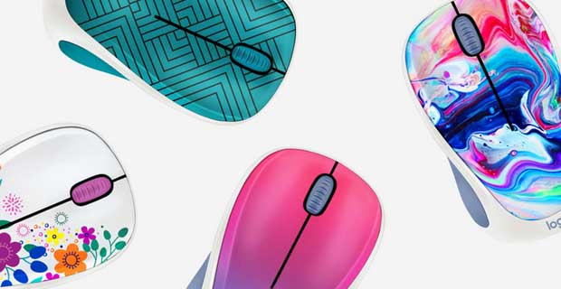 Souris sans fil Logitech Design Collection