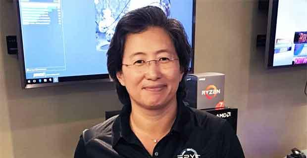 Lisa Su présidente et PDG d'AMD