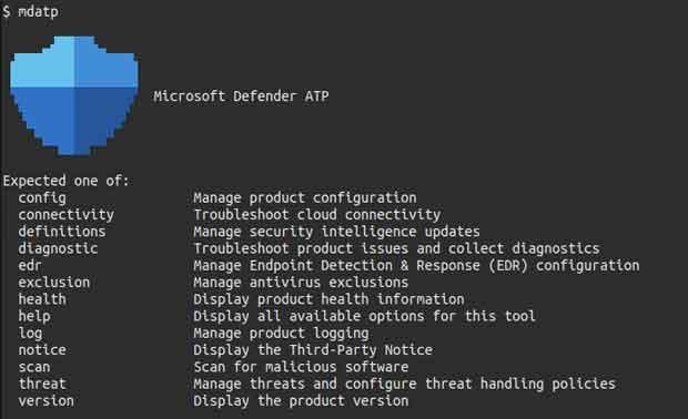Microsoft Defender ATP pour Linux (Ubuntu)