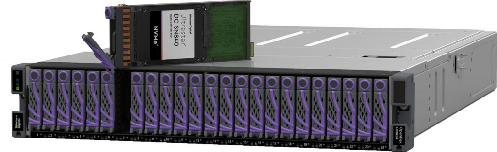 Plate-forme de stockage NVMe-oF OpenFlex Data24