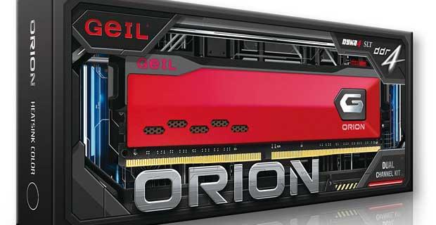 Mémoire vive Orion de GeIL
