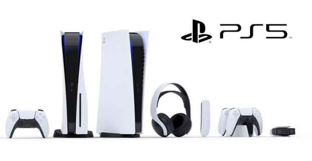Console de jeu PS5 alias PlayStation 5 de Sony