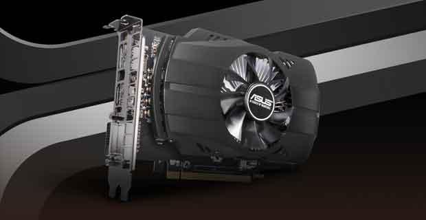 Carte graphique ASUS Phoenix Radeon 550 2GB GDDR5 (PH-550-2G)