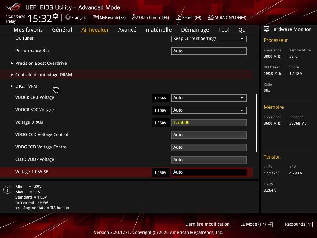 ROG STRIX B550-E Gaming - BIOS