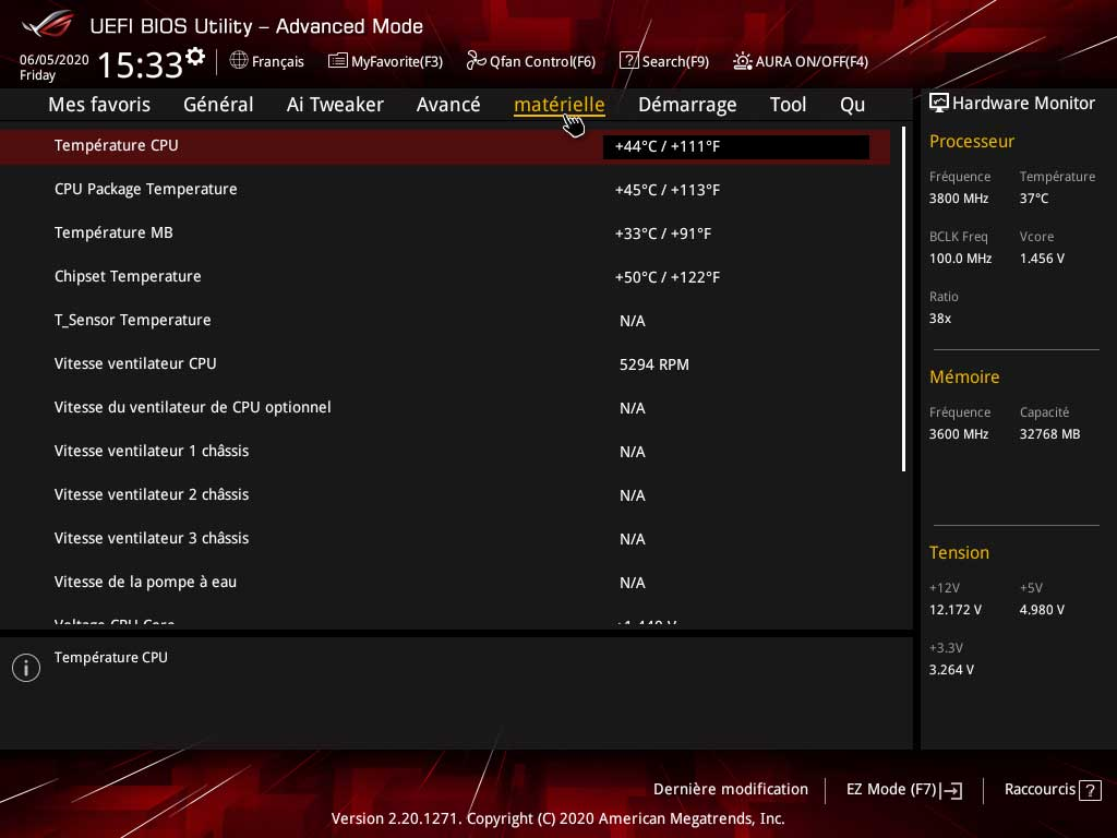 ROG STRIX B550-E Gaming - BIOS
