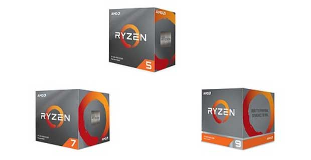 Ryzen 3000 series AMD