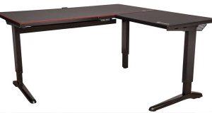 Le bureau gaming ToughDesk 500L RGB Battlestation Gaming Desk