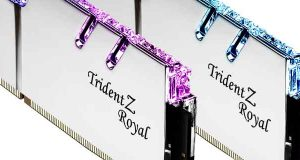 Kit Dual Channel Trident Z Royal 2 x 16 Go DDR4-4400 CL17