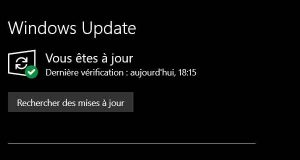 Le service Windows Update de Windows 10