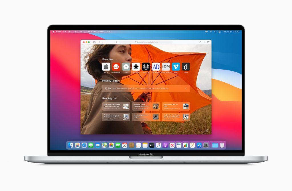 macOS Big - Safari