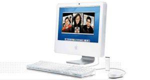 iMac G5 d'Apple (processeur Intel)