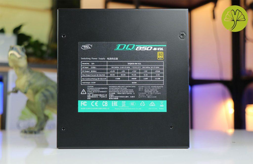 Alimentation DQ850-M-V2L de DeepCool