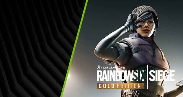 "Bundle ""Tom Clancy's Rainbow Six Siege Gold Edition"" de Nvidia"