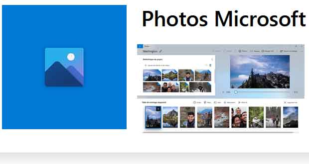 Application Photos de Microsoft (Windows 10)