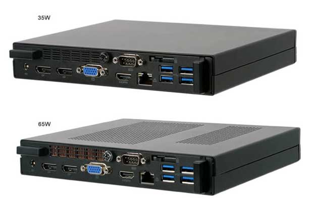 Mini PC Barbone SF110 Q470 d'ECS