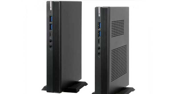 Mini PC Barbone SF110 Q470 d'ECS