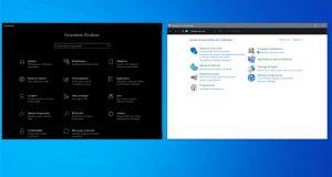 Windows 10 - Paramètres et le Panneau de configuration
