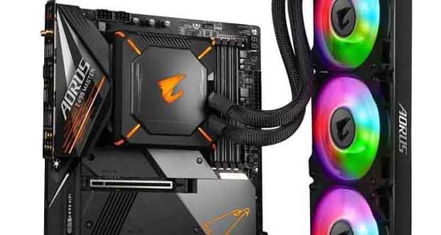 Carte mère Z490 AORUS Master WaterForce de Gigabyte