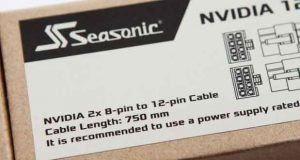 Nvidia 2 x 8 -pin to 12-pin cable de Seasonic